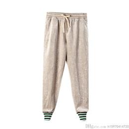 leggings de primavera de qualidade Desconto 2019 Primavera e Outono Leggings de Alta Qualidade Lantejoulas de Luxo Skinny Calças Casuais Calças Mulheres Calças Tamanho S-XL