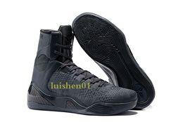 Canada Pas cher vente kobe 9 haut tissage BHM / Pâques / Chaussures de basketball de qualité supérieure pour les hommes de qualité KB 9s formateurs baskets de sport taille 40-46 x06 cheap high top kobe shoes Offre