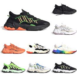 Scarpe arancioni al neon online-Adidas New Pride 3M Reflective Xeno Ozweego Uomo Donna Casual Scarpe Era Pack Neon Verde Grassetto Arancione Toni di Halloween Uomo Sneaker Sport Sneakers