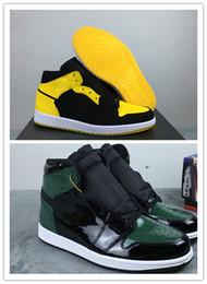 Nuevo 1 Nuevo Love negro amarillo SolyFly low i HOMBRE Baloncesto diseñador Zapatos zapatillas deportivas deportivas al aire libre con caja TAMAÑO DE CALIDAD SUPERIOR 8-12 desde fabricantes