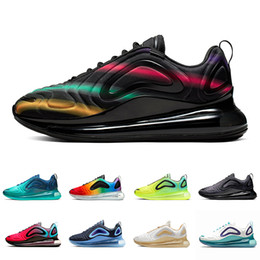 Nike air max 720 airmax shoes Bold Branding Volt Obsidian Sea Forest KPU OG Running shoes for men women Triple black Mens trainers University Red