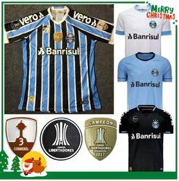fb1639575a471 2019 jersey gremio 2018 2019 Camisas de Futebol Gremio Paulista 18 19  Gilchmei Melhor Grêmio Johnath