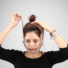 Canada Masque facial Visage Minceur Bandage Masseur Visage Chin Cheek V Visage Lift Ceinture Mince Masque Masque cheap face slimmer belt Offre