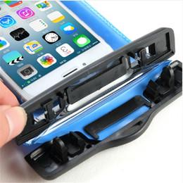 producto fuerte Rebajas 2018 productos calientes cubierta impermeable teléfono móvil PVC impermeable teléfono móvil bolsa