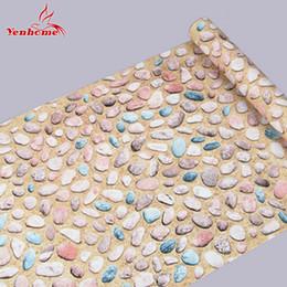 Vara de vinil on-line-5 M À Prova D 'Água Película Decorativa Casca E Vara Autoadesiva Papel De Parede Para O Banheiro Cozinha Anti Óleo Vinyl Wall Sticker Home Decor