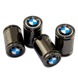 adesivo logo toyota Sconti Per BMW M6 M8 X1 X3 X4 X5 X6 X3 Z4 I3 I8 G30 G38 F01 Tappo per Moto Metallo Styling Esterno Decorazione auto Ruota Coperchio valvola