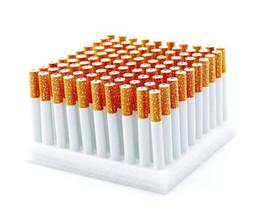 2019 troll de gotejamento Atacado 1 Box Cigarette Forma de Liga de Alumínio Tubos de Metal Tubos de Tabaco Para Fumar Dicas de Gotejamento