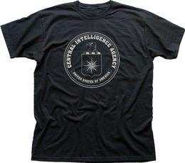 2019 camisetas al por mayor de ee. CIA Agencia Central de Inteligencia Usa marino Negro Zinc camiseta de algodón al por mayor de 0263 Tee Shirts rebajas camisetas al por mayor de ee.
