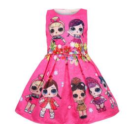 Argentina Hot Baby Dresses 3-7Y Verano Lindo Vestido Elegante Fiesta de Niños Disfraces de Navidad Ropa de Niños Princesa Lol Girls Dress Suministro