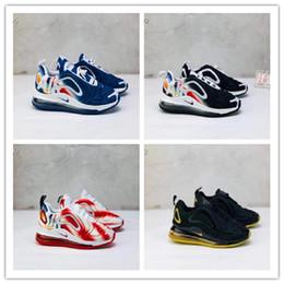 führte kühle net lichter Rabatt Nike air max 720 2019 Kanye West Infant Clay 72 Kleinkind Kinder Laufschuhe Static GID Chaussure de Sport für enfant Jungen Mädchen Casual Trainer