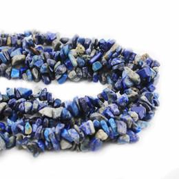perlas de fluorita al por mayor Rebajas Lapislázuli Gemstone Beads 5-8mm Para la fabricación de joyas Diygemstone chips Bead Buena calidad Venta caliente LGC-01