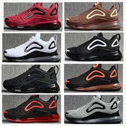 nike aie max 720 running shoes Envío libre de la pista dura Zapatos al aire libre para hombres Nano gota zapatos de malla de plástico 8 colores con caja de zapatos desde fabricantes