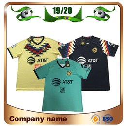 2019 camisetas de club america 2019 LIGA MX Club America soccer camisetas 19/20 America team 10 # C.DOMINGUEZ 24 # O.PERALTA 22 # P.AGUILAR Uniforme de la camiseta de fútbol rebajas camisetas de club america