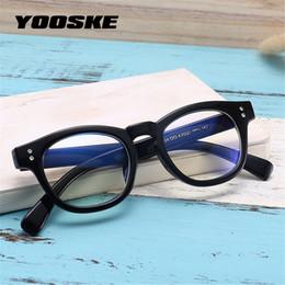 2019 китайские игровые компьютеры YOOSKE анти-синие лучи очки Женщины компьютерные очки Очки для чтения рамка мужчины синий свет радиационно-стойкие игры