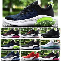 athletic shoe sells Promo Codes - Cheap Sell Classic Joyride Run Men Running Shoes Triple Black White Platinum Tint University Red Outdoor Trainers Breathable Athletic
