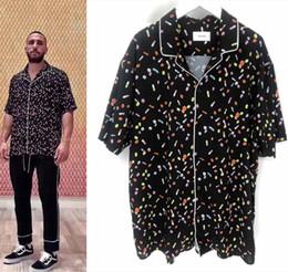 2019 beste hip hop t-shirts 19SS RHUDE Pill T Shirt Männer Frauen 1a: 1 Beste Qualität RHUDE Top Tees Mode Lässig Hip-Hop RHUDE T-Shirt rabatt beste hip hop t-shirts