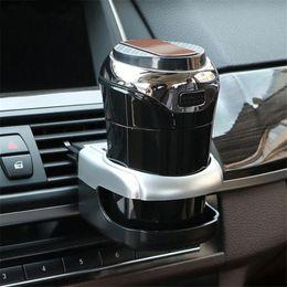 Agua del enfriador de aire online-Soporte de vaso para coche Soporte de aire para ventilador de aire Soporte universal de bebida inteligente Soporte de clip Bebida suave Café Botella Soporte Enfriador Soporte