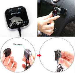 usb charger magnet Coupons - Magnet Car Bluetooth FM Transmitter Car Kit Hands Free MP3 Player Dual USB Car Charger BT760 DHL FEDEX Free