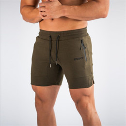 2019 dunkle denimkurzschlüsse männer M-2XL Männer Sommer-beiläufige Mesh Shorts Männer Brand New Board Shorts 2019 Gym Solide Breathable elastische Taillen-Art und Weise beiläufige Kurz