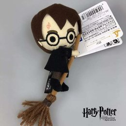 Anhänger tier schlüssel online-Harry Potter Kuscheltier Puppe Für Plüsch Rucksäcke Zubehör Anhänger Plüschtier auf Schlüsselring beste Geschenke für Kinder Spielzeug lol