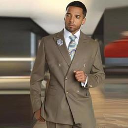 Yakışıklı Groomsmen Kruvaze Damat Smokin Erkek Gelinlik Adam Ceket Blazer Balo Yemeği 2 Parça Suit (Ceket + Pantolon + Kravat) nereden