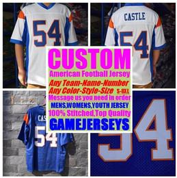 remiendos al por mayor de la camisa del niño Rebajas Universidad personalizada camisetas de fútbol americano para hombre para mujer niños niños fútbol rugby barato cosido auténtico jersey 4xl 5xl 6xl 8xl ropa deportiva