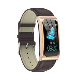 "2019 lg smart band AK12 Smart Watch 1.14 ""IP68 Cronometro impermeabile frequenza cardiaca Braccialetti intelligenti Fitness Tracker Orologi da nuoto PK X3 S2 Android IOS"