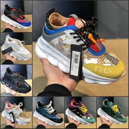 2019 zapatillas populares Reacción en cadena Zapatillas de deporte de diseño populares Multi-Color Chainz Negro Zapatillas deportivas de moda deportiva Entrenador Zapatillas de deporte con suela ligera zapatillas populares baratos