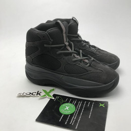 estação de petróleo Desconto Homens botas de deserto Bota Rocha óleo Sal Kanye West Martin botas de moda de luxo Shoes Temporada 6 Estrelas homens botas Sneakers para homens exteriores Trainers