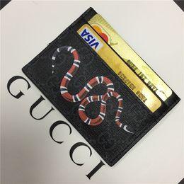 Bolsos de cuero negro de diseño online-titular de la tarjeta del diseñador billetera para hombre para mujer de lujo titular de la tarjeta bolsos titulares de la tarjeta de cuero monederos pequeños monederos diseñador monedero 8877667