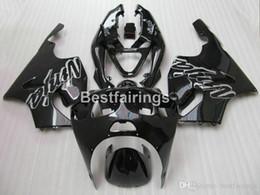 kit corpo kawasaki 1996 Sconti Kit carene aftermarket per Kawasaki Ninja ZX7R Kit carene nere lucido 1996-2003 ZX7R 96-03 TY52