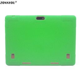 10.1 Tablet PC Android 7.0 3G LTE Octa Core 4 GB RAM 32 GB ROM Dual SIM Tarjetas IPS GPS Funda de goma Tablet PC + Verde desde fabricantes