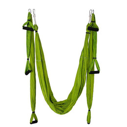 NUOVO Yoga Hammock Altalena Set catena margherita Paracadute Tessuto Inversione Terapia Ad alta resistenza Decompressione Amaca Palestra Yoga Appeso da