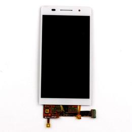 Huawei 4.7 en Ligne-Les pièces de rechange pour l'écran tactile LCD Huawei P6 de 4,7 pouces sont assemblées en noir \ blanc 100% testées et qualifiées