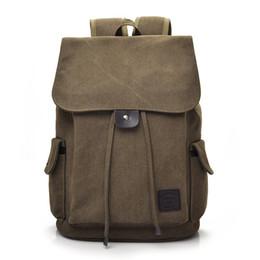 Discount small string man - Canvas Backpack Rucksack School Bag Women  Backpack Womens Bags Men Backpack 02b2e3607fba1