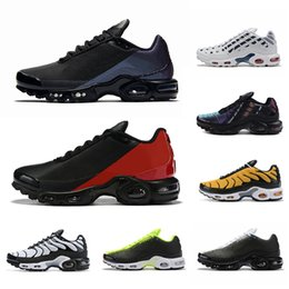 nike air vapormax plus tn Plus SE Tn Tuned 1 Hybird Mens Running shoes Men Sneakers Tns Fashion Brand shock orange Womens Trainers sports sneakers 36-45 desde fabricantes