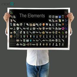 materiali da parete Sconti Quadro su tela senza cornice Quadro su tela Poster Tavola periodica degli elementi con oggetto materiale Quadro su tela Immagine pittura