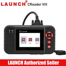 Lanzamiento X431 Creader VIII OBD2 Lector de código de auto Herramienta de diagnóstico automático Transmisión del motor ABS SRS EPB SAS Luz de servicio de aceite restablecida desde fabricantes