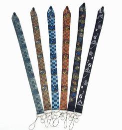 подарок для мобильных телефонов Скидка высокое качество Гарри Поттер брелки длинные ремешки id значок держатель брелок ремни для мобильного телефона партии подарки
