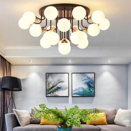 lusso LED Light soggiorno plafoniera Nordic minimalista moderno soffitto fagiolo magico ristorante della lampada della luce camera da letto navata da