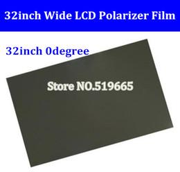 lcd tv 32 Rebajas Nuevo 32 pulgadas, 32 pulgadas, 0 grados, 715MM * 410 MM, polarizador LCD, película polarizadora para pantalla LCD LED IPS para TV