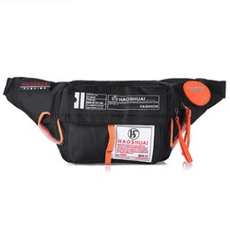Fanny Pack Colorful Waist Bag Waterproof Travel Mobile Phone Belt Sports Money Holder Sac Banane#L3$,Red