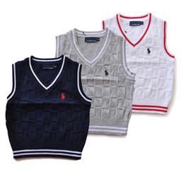 Suéter polo caliente online-3-8T alta calidad bebé niña suéter primavera otoño niños cálido algodón polo outwear suéter envío gratis