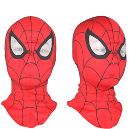 face mask animal for kid Coupons - New Hot !!!Super Cool Spiderman Mask Adult and Kids Full Head Halloween Masks Hood Masks Animal Costumes