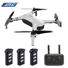 2019 baterías jjrc JJRC X7 SMART Doble GPS 5G WiFi 1080P FPV Sin escobillas RC Drone - RTF Gimbal 23mins Vuelo Quadcopter Waypoint Una llave 3 baterías rebajas baterías jjrc