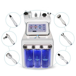 Máquina facial do aqua on-line-Multifuncional Hydra dermoabrasão RF Bio-lifting Spa Facial Máquina do Aqua cleaningl Facial água peeling máquina dermoabrasão