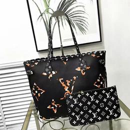 Billige hochwertige handtaschen online-Preiswerter Verkauf 2019 neue Artart und weiselederentwerferluxusfrauen-Handtaschenqualität freie Verschiffen-Dame-Totes-Beutel 32CM Farbmischung