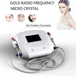 Rouleau d'aiguille de massage en Ligne-Visage fractionnel rf anti-rides machine de massage micro aiguilletage mésothérapie cicatrices acné micro aiguille rouleau système