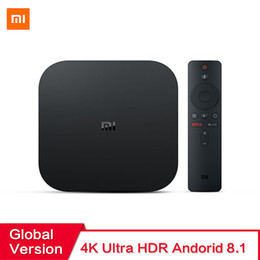 2019 Xiaomi Mi Box S 4 Android 8.1 4K HD QuadCore Smart TV Box 2GB 8GB HDMI 2.4G 5.8G WiFi da