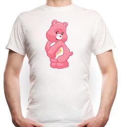 2019 ursinhos brancos amor Urso do amor camiseta Urso branco dos ursos do cuidado Urso de peluche do ursinho de pelúcia desconto ursinhos brancos amor